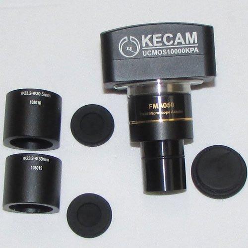 آداپتور ها و دوربین 10 مگاپیکسلی مخصوص انواع میکروسکوپ و استریومیکروسکوپ Industrial Digital Camera