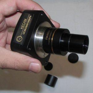 نمای رابط مخصوص اتصال به میکروسکوپ های بیولوژی