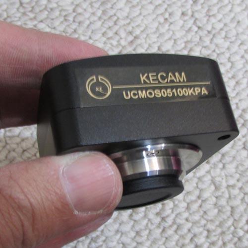 بدنه اصلی دوربین میکروسکوپ 5 مگا پیکسلی