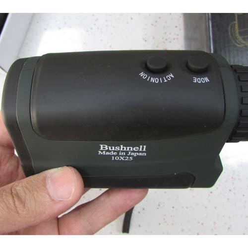 نمای کلیدهای مسافت یاب 700 متری بوشنل مدل Bushnell Range Finder 10X25