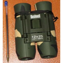 دوربین شکاری بوشنل جیبی مدل bushnell binoculars 12x25