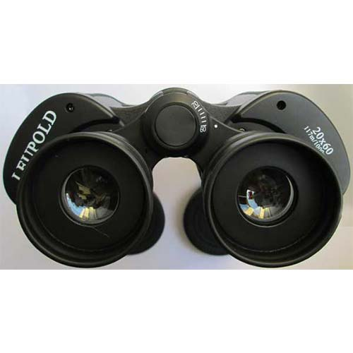 نمای چشمی های دوربین دو چشمی لئوپولد 20 برابر
