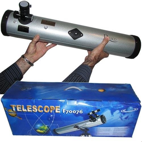 بسته بندی تلسکوپ آینه ای 76700 یا تلسکوپ بازتابی 76700