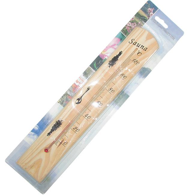 تصویر بسته بندی دماسنج سونا ۱۲۰ درجه سانتیگراد مناسب سونای بخار و خشک