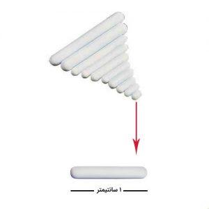 مگنت آزمایشگاهی - آهنربای آزمایشگاهی با طول یک سانتیمتر
