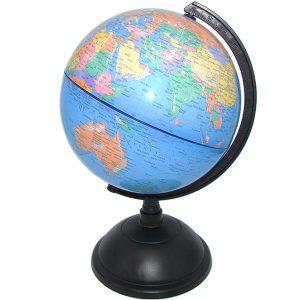 مدل کره زمین با قطر ۲۰ سانتیمتر زبان انگلیسی