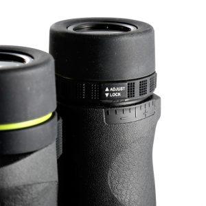 نمایی از سیستم فوکوس دیوپتر چشمی دوربین شکاری ونگارد مدل Endeavor ED II 10x42