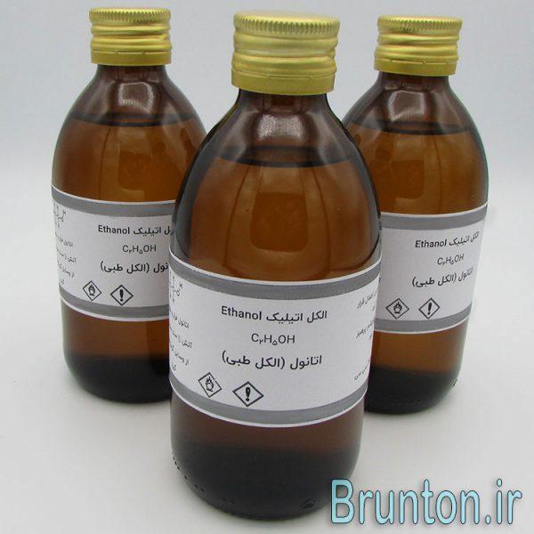 نمای بسته بندی های اتانول با کیفیت